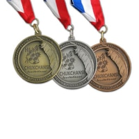 Ribbons, Lapel Pins, Medals, Patches, and Bookmarks