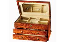 Maple Burl Jewelry Box